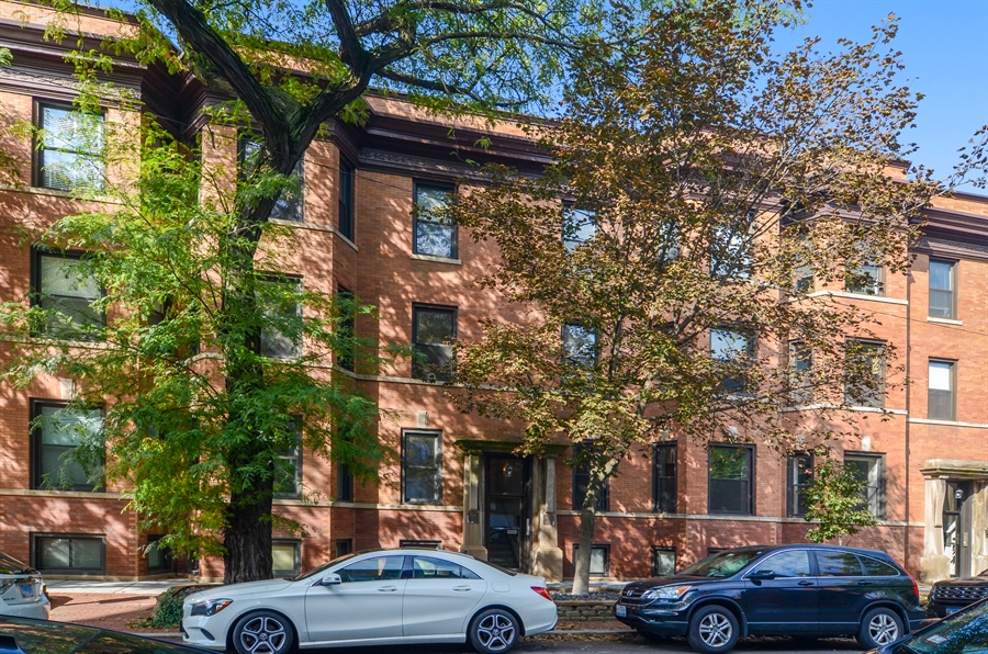 Real Estate Photography - 2008 N Kennmore, Unit B, Chicago, IL, 60614 - Front View