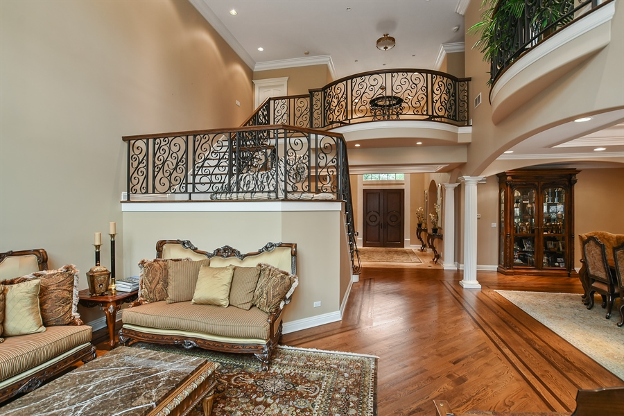 Real Estate Photography - 3393 Old Mill Rd, Highland Park, IL, 60035 - Staircase