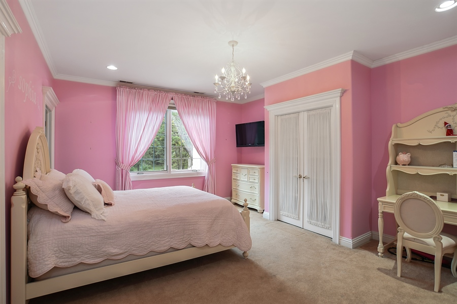 Real Estate Photography - 3393 Old Mill Rd, Highland Park, IL, 60035 - 2nd Bedroom