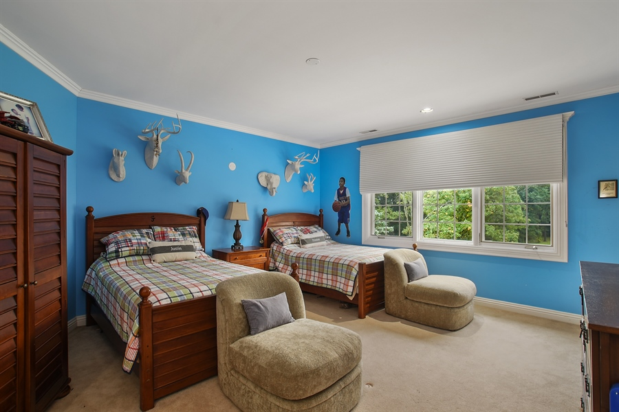 Real Estate Photography - 3393 Old Mill Rd, Highland Park, IL, 60035 - 3rd Bedroom