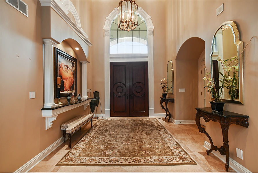 Real Estate Photography - 3393 Old Mill Rd, Highland Park, IL, 60035 - Foyer