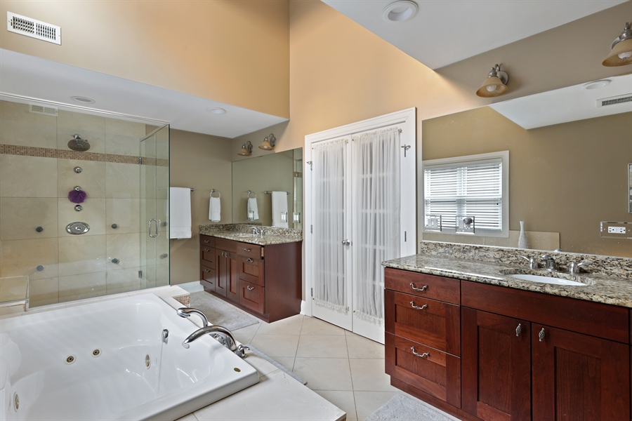Real Estate Photography - 4714 N Wolcott, Chicago, IL, 60640 - Master Bathroom