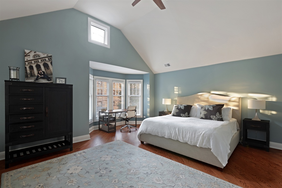 Real Estate Photography - 4714 N Wolcott, Chicago, IL, 60640 - Master Bedroom