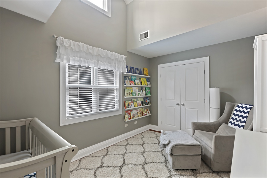 Real Estate Photography - 4714 N Wolcott, Chicago, IL, 60640 - 3rd Bedroom