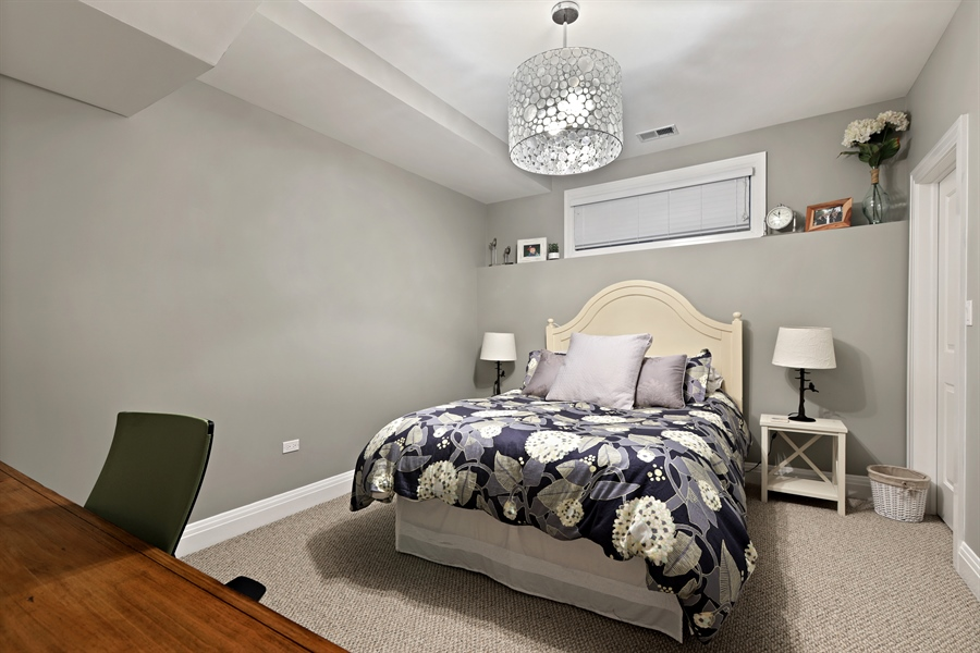 Real Estate Photography - 4714 N Wolcott, Chicago, IL, 60640 - 4th Bedroom