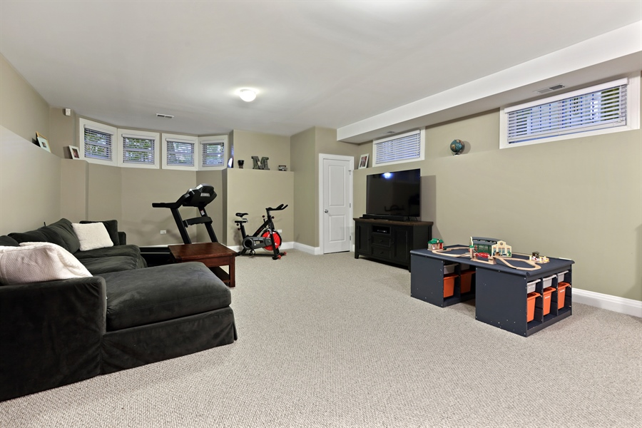 Real Estate Photography - 4714 N Wolcott, Chicago, IL, 60640 - Recreation Room