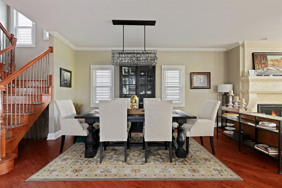 Real Estate Photography - 4714 N Wolcott, Chicago, IL, 60640 - Dining Room