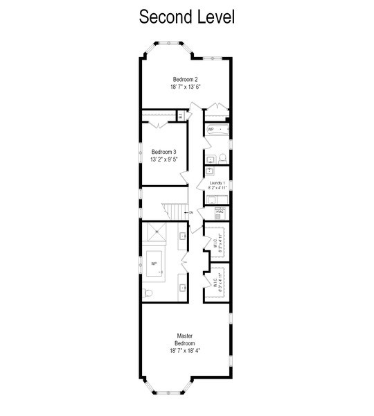 Real Estate Photography - 4714 N Wolcott, Chicago, IL, 60640 - Floor Plan