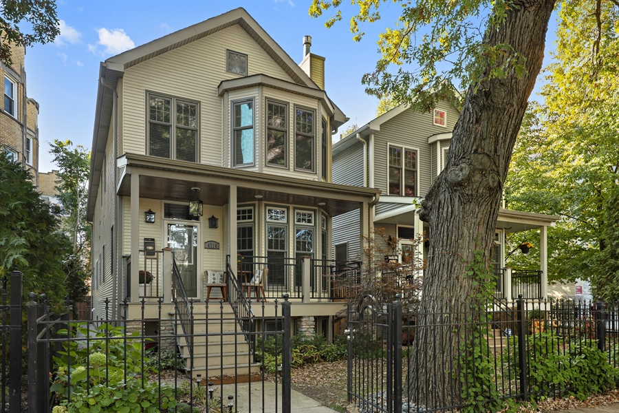 Real Estate Photography - 4714 N Wolcott, Chicago, IL, 60640 - Front View
