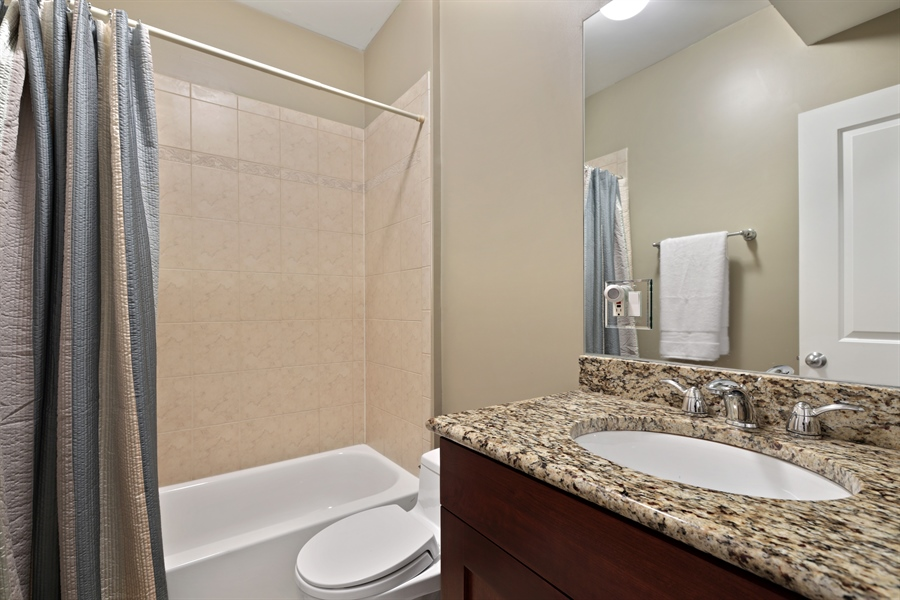 Real Estate Photography - 4714 N Wolcott, Chicago, IL, 60640 - 2nd Bathroom