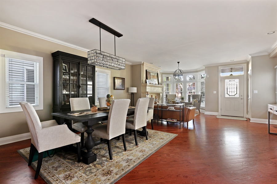 Real Estate Photography - 4714 N Wolcott, Chicago, IL, 60640 - Living Room / Dining Room