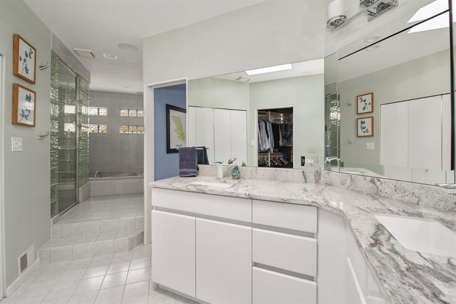 Real Estate Photography - 2338 W Charleston, Chicago, IL, 60647 - Master Bathroom