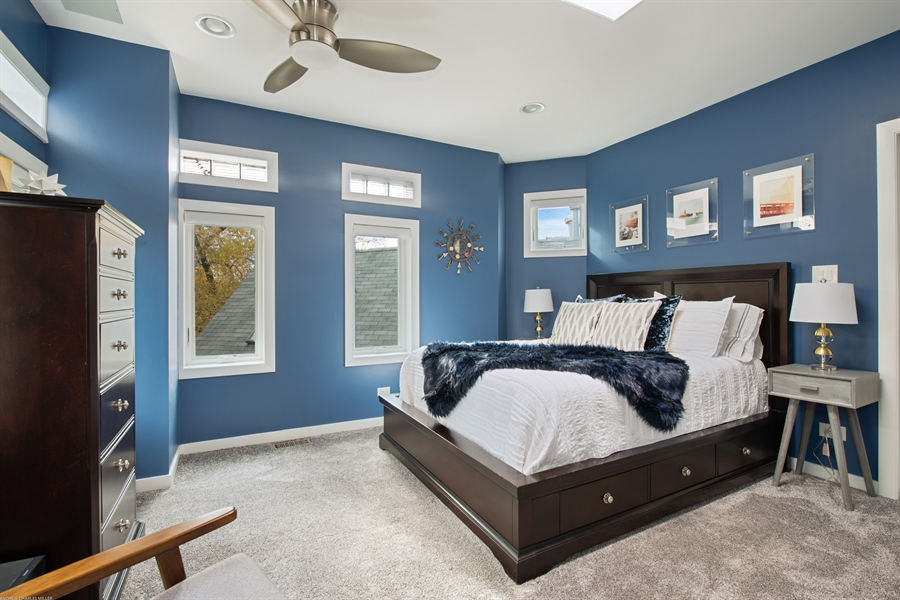 Real Estate Photography - 2338 W Charleston, Chicago, IL, 60647 - Master Bedroom