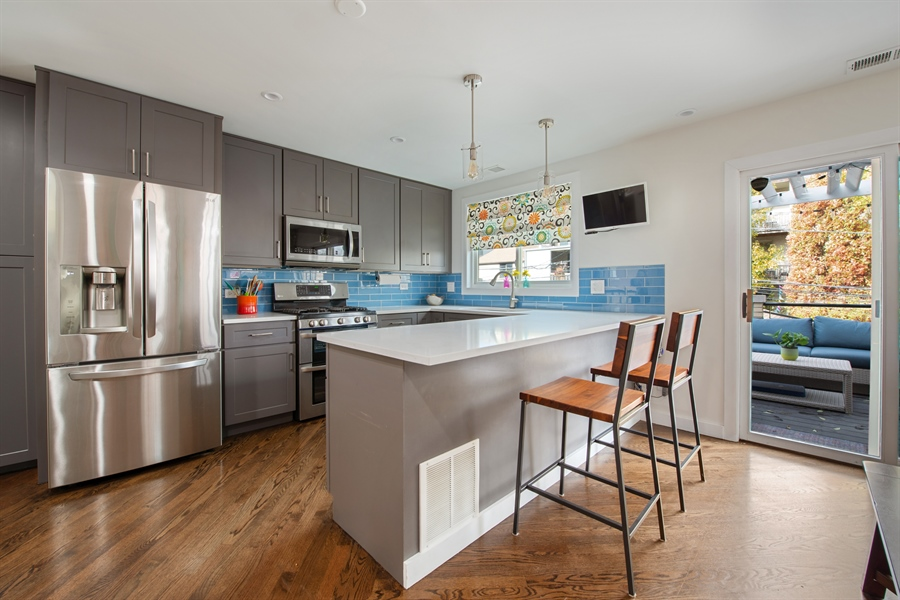 Real Estate Photography - 2338 W Charleston, Chicago, IL, 60647 - Kitchen