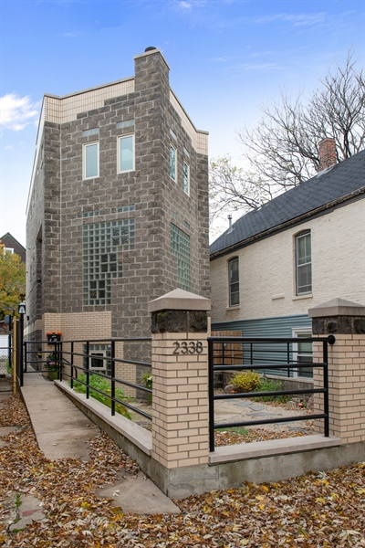 Real Estate Photography - 2338 W Charleston, Chicago, IL, 60647 - Front View