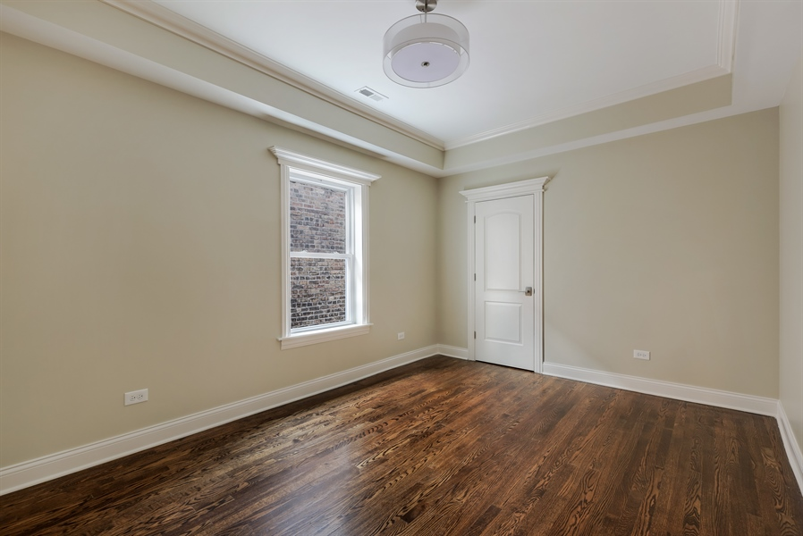 Real Estate Photography - 1626 W Summerdale, Chicago, IL, 60640 - 2nd Bedroom