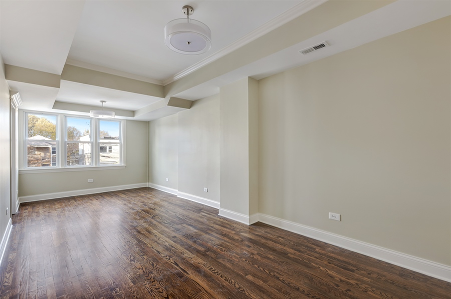 Real Estate Photography - 1626 W Summerdale, Chicago, IL, 60640 - Bedroom