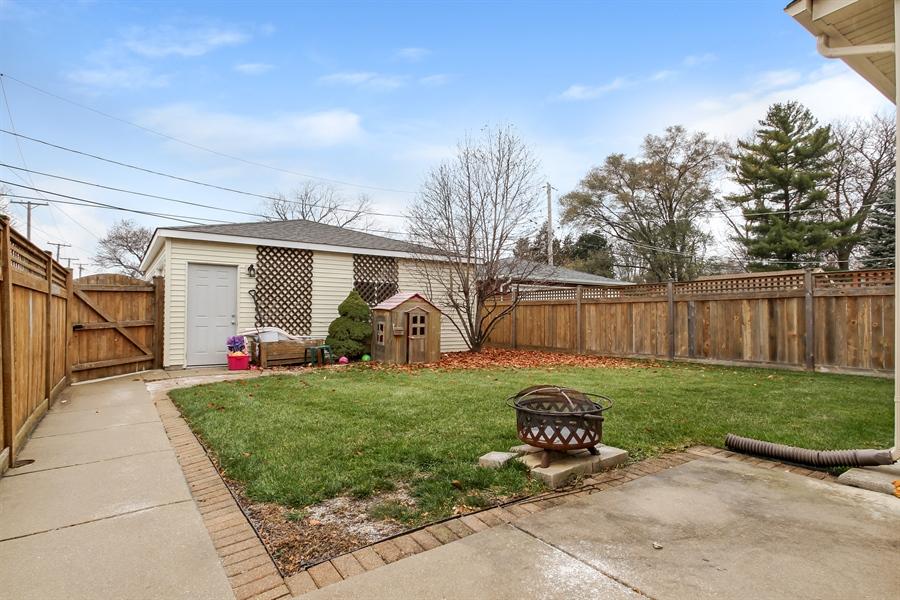 Real Estate Photography - 8014 Elmore, Niles, IL, 60714 - Back Yard