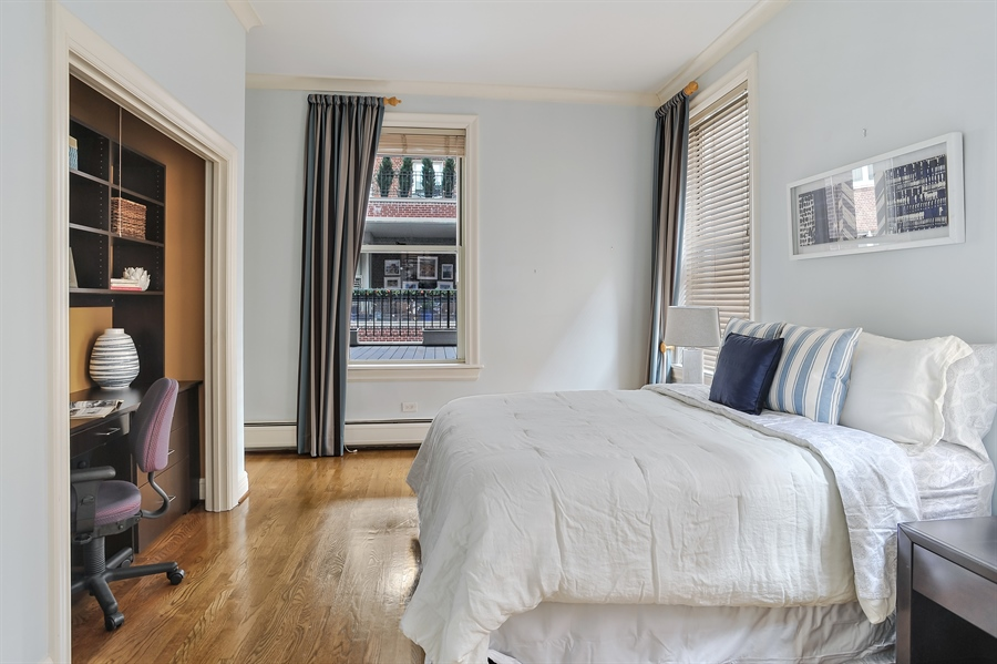 Real Estate Photography - 33 E Bellevue, 3W, Chicago, IL, 60611 - 2nd Bedroom