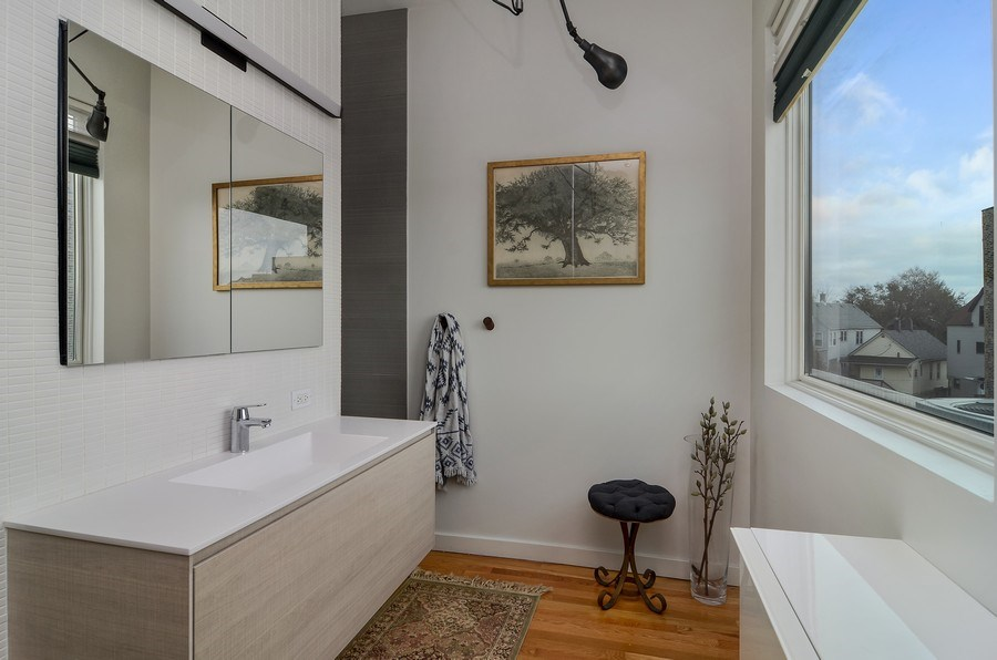 Real Estate Photography - 2811 W Shakespeare Ave, Chicago, IL, 60647 - Master Bathroom
