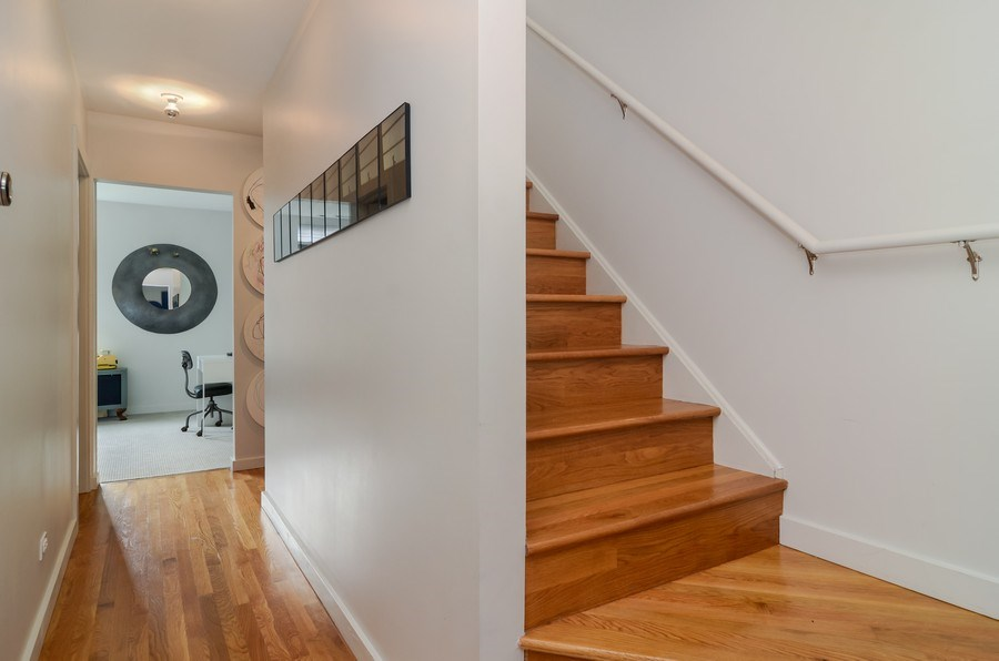 Real Estate Photography - 2811 W Shakespeare Ave, Chicago, IL, 60647 - Hallway
