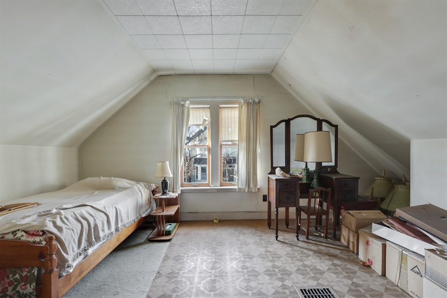 Real Estate Photography - 3435 N Oakley, Chicago, IL, 60618 - Bedroom