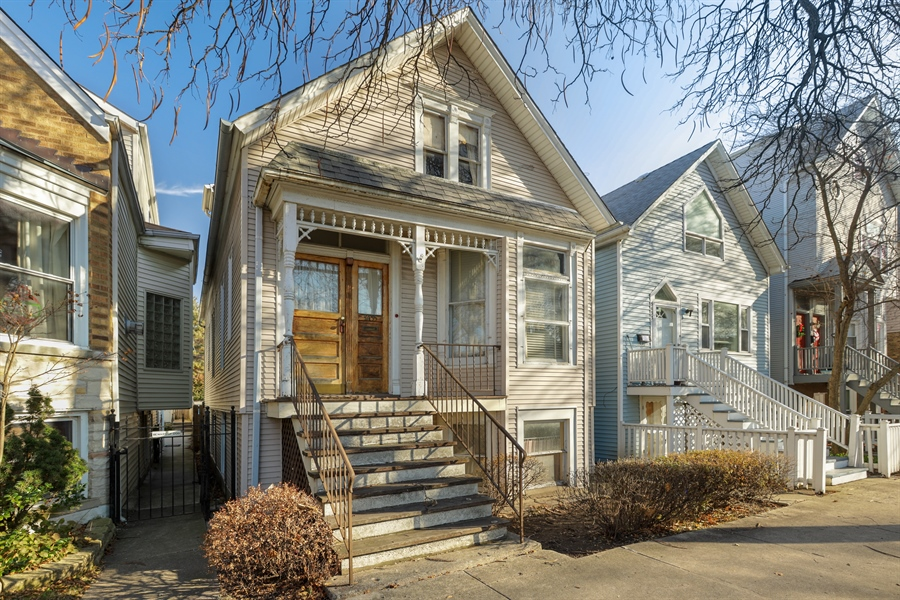 Real Estate Photography - 3435 N Oakley, Chicago, IL, 60618 - Front View