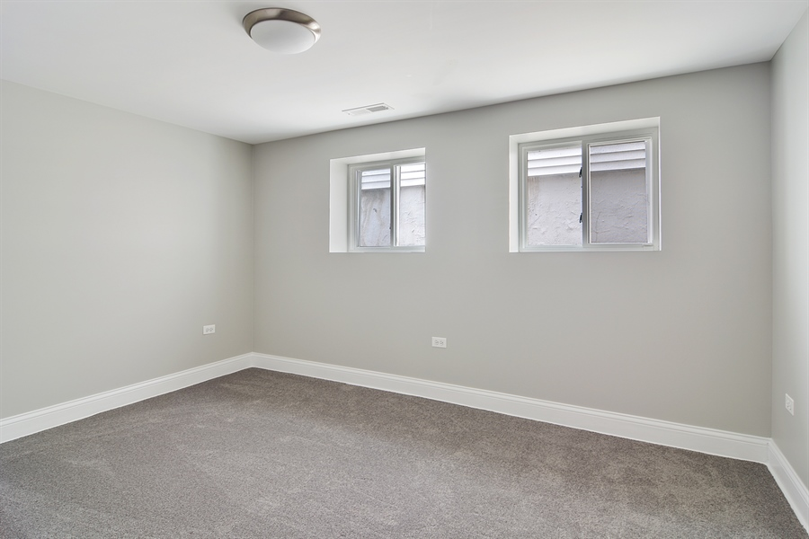 Real Estate Photography - 3747 N Francisco, Chicago, IL, 60618 - 3rd Bedroom