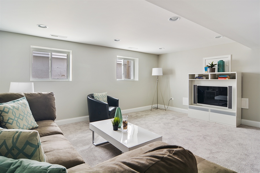 Real Estate Photography - 3747 N Francisco, Chicago, IL, 60618 - Lower Level