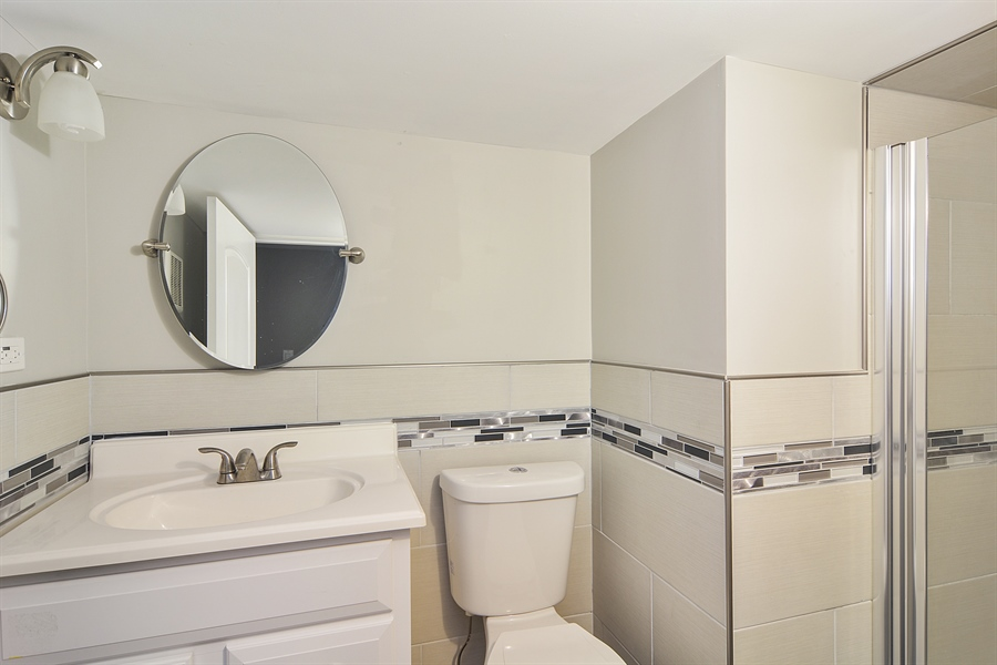 Real Estate Photography - 3747 N Francisco, Chicago, IL, 60618 - Bathroom