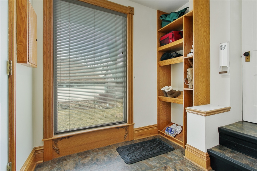 Real Estate Photography - 321 S. Euclid Ave, Oak Park, IL, 60302 - Mud Room