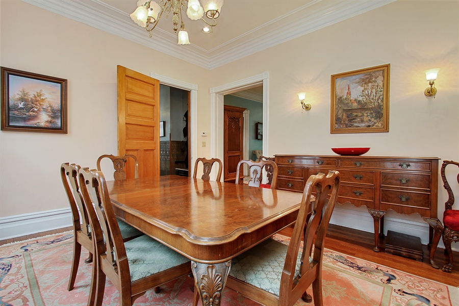 Real Estate Photography - 321 S. Euclid Ave, Oak Park, IL, 60302 - Dining Room