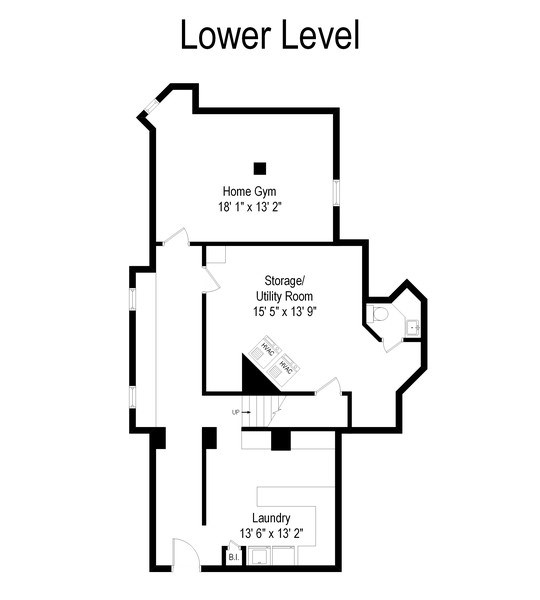 Real Estate Photography - 321 S. Euclid Ave, Oak Park, IL, 60302 - Floor Plan