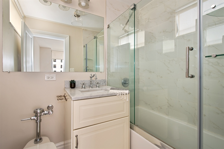 Real Estate Photography - 1000 N Lakeshore, 1501, Chicago, IL, 60611 - Master Bathroom