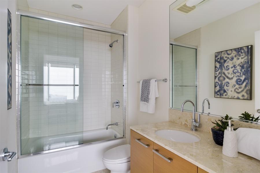Real Estate Photography - 340 East Randolp, 5803, Chicago, IL, 60601 - Bathroom