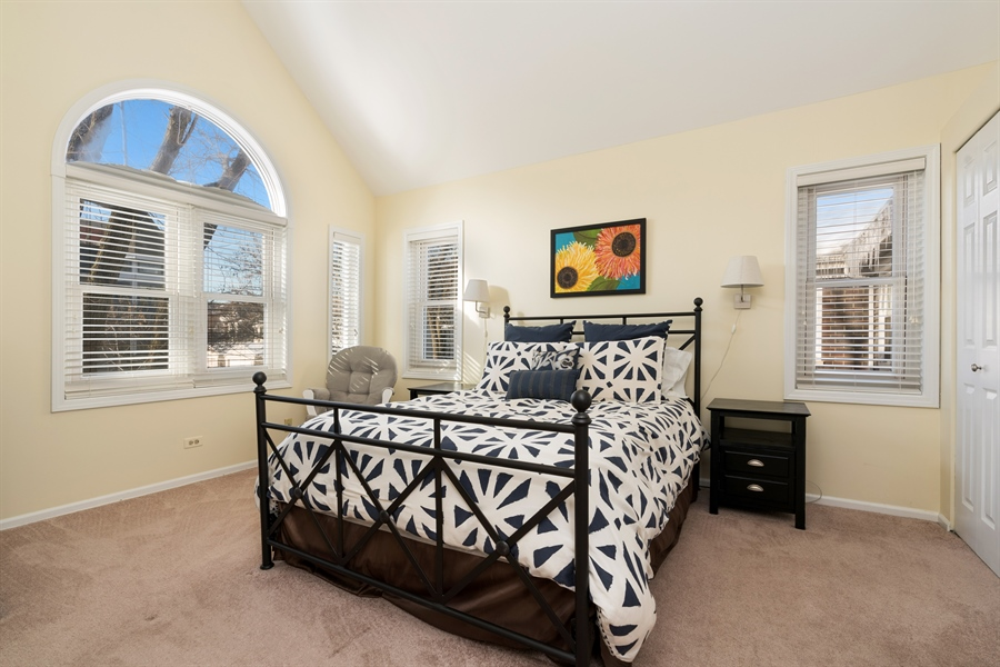 Real Estate Photography - 3335 N. Racine, A, Chicago, IL, 60657 - Master Bedroom