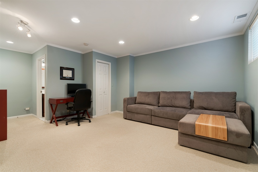 Real Estate Photography - 3335 N. Racine, A, Chicago, IL, 60657 - 3rd Bedroom or Family Room