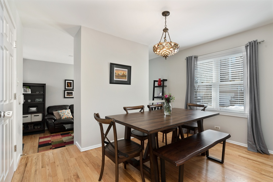 Real Estate Photography - 3335 N. Racine, A, Chicago, IL, 60657 - Dining Room