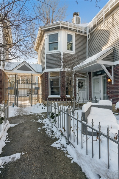 Real Estate Photography - 3335 N. Racine, A, Chicago, IL, 60657 - Front View