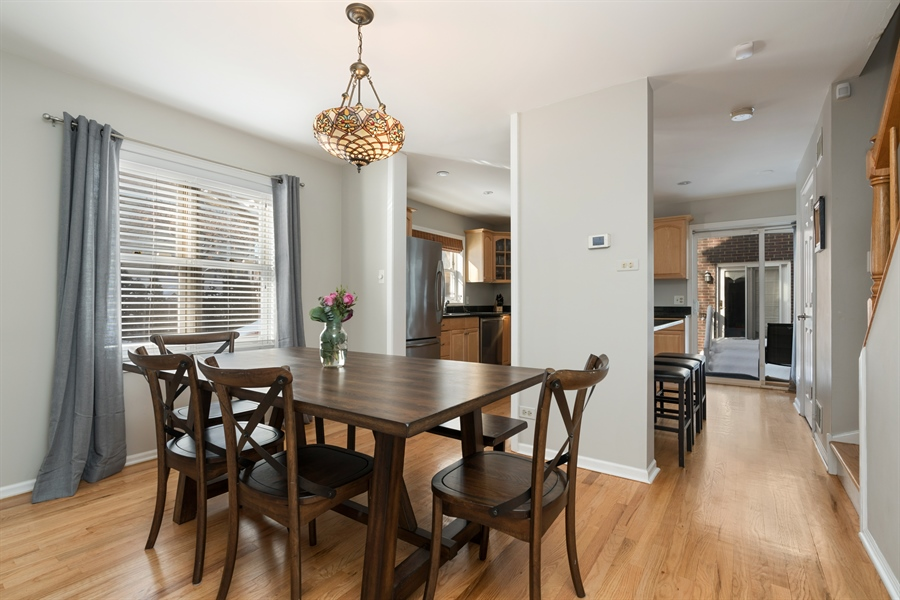 Real Estate Photography - 3335 N. Racine, A, Chicago, IL, 60657 - Kitchen / Dining Room