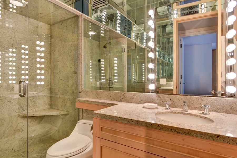Real Estate Photography - 1555 N Astor St, Unit 28e, Chicago, IL, 60610 - 3rd Bathroom