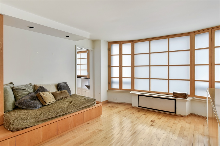 Real Estate Photography - 1555 N Astor St, Unit 28e, Chicago, IL, 60610 - Media Room
