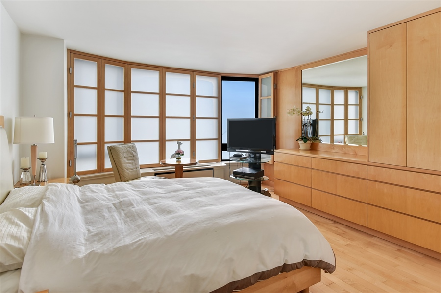 Real Estate Photography - 1555 N Astor St, Unit 28e, Chicago, IL, 60610 - 4th Bedroom