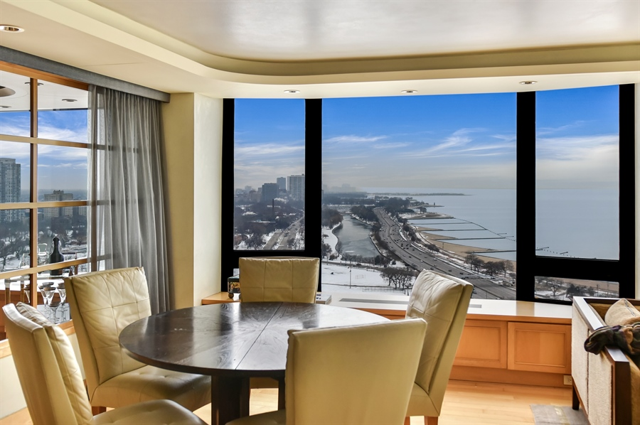 Real Estate Photography - 1555 N Astor St, Unit 28e, Chicago, IL, 60610 - Family Room