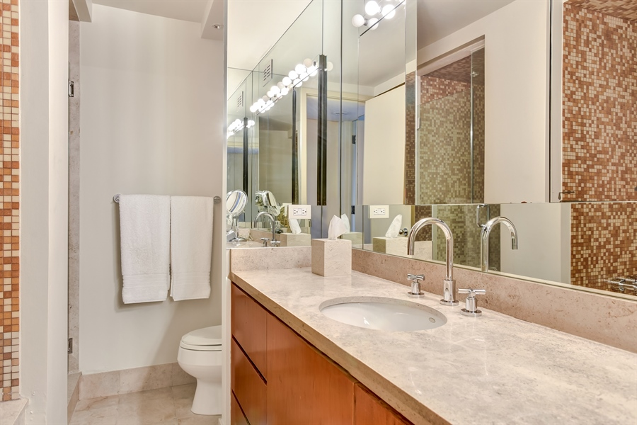 Real Estate Photography - 1555 N Astor St, Unit 28e, Chicago, IL, 60610 - Bathroom