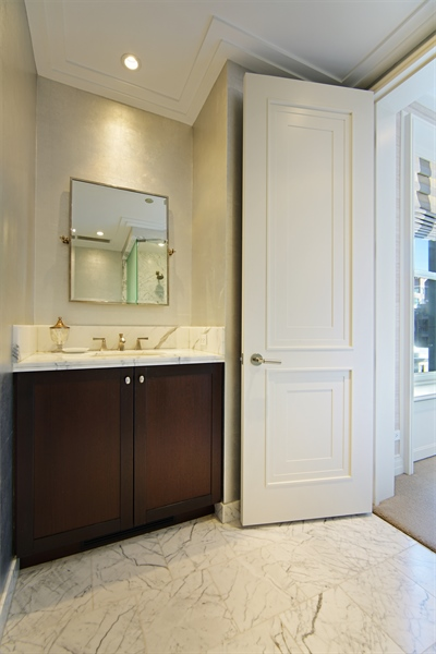 Real Estate Photography - 159 E Walton Pl, Unit 13A, Chicago, IL, 60610 - 3rd Bathroom
