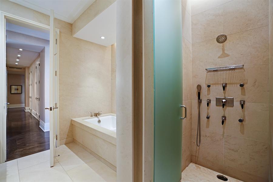Real Estate Photography - 159 E Walton Pl, Unit 13A, Chicago, IL, 60610 - Master Bathroom