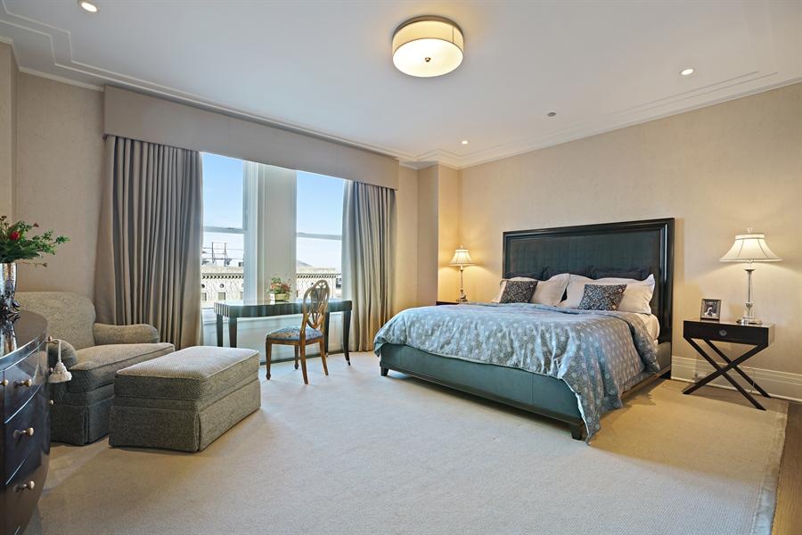 Real Estate Photography - 159 E Walton Pl, Unit 13A, Chicago, IL, 60610 - Master Bedroom