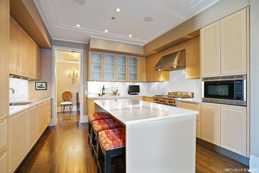 Real Estate Photography - 159 E Walton Pl, Unit 13A, Chicago, IL, 60610 - Kitchen