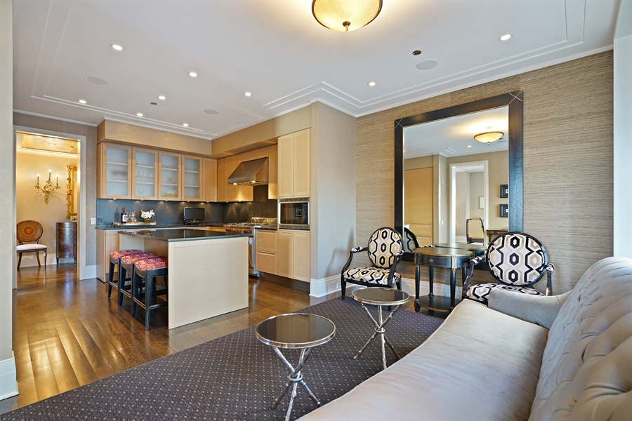 Real Estate Photography - 159 E Walton Pl, Unit 13A, Chicago, IL, 60610 - Kitchen / Breakfast Room